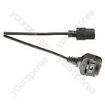 Eagle IEC Mains Lead to 3 Pin UK Plug 5A - Length (m) 1.5