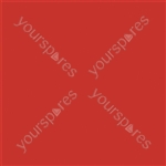 "Coloured Gel Sheet 48""x21"" - Colour Primary Red 106"