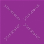 "Coloured Gel Sheet 48""x21"" - Colour Mauve 126"