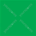 "Coloured Gel Sheet 48""x21"" - Colour Primary Green 139"