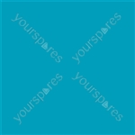 "Coloured Gel Sheet 48""x21"" - Colour Blue Green 116"