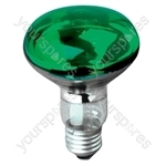Crompton R080 Reflector Lamp ES Green 60W