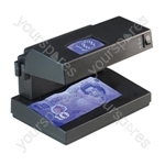 Compact UV Counterfeit Money & Document Detector. EU Model