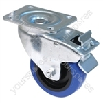 Swivel Castor with Foot Operated Brake 100mm
