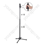 Microphone Stand with Tripod Legs and Quick Release