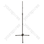 Economy Steel Microphone Stand With Tripod Legs