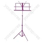 Folding Sheet Music Stand - Colour Purple