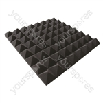 New Jersey Sound Acoustic Foam Tiles - Style Pyramid