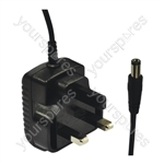 Eagle Replacement 12 V 500 mA DC Power Supply 6W UK Plug For the NJS800 Keyboard