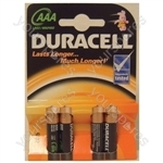 Duracell Alkaline Batteries - Type AAA