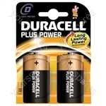 Duracell Alkaline Batteries - Type D