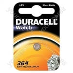 Duracell Silver Oxide Button Cell - Type 364/363