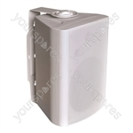 Eagle 100 V Line & 8 Ohm Wall Speaker With Bracket 30W - Colour White