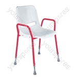 Milton Stackable Portable Shower Chair - Configuration