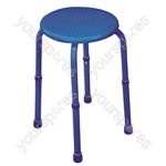 Multi-Purpose Adjustable Stool - Colour Blue