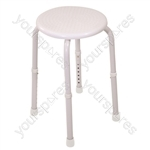 Multi-Purpose Adjustable Stool - Colour White