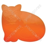 Tenura Anti Slip and Anti Microbial Childrens Table Mat - Type Orange Cat