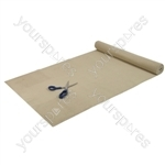 Tenura Non Slip Fabric - Colour Beige