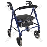 Lightweight Rollator - Colour Blue