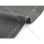 Acoustic Cloth - 140cm x 70cm - Dark Grey