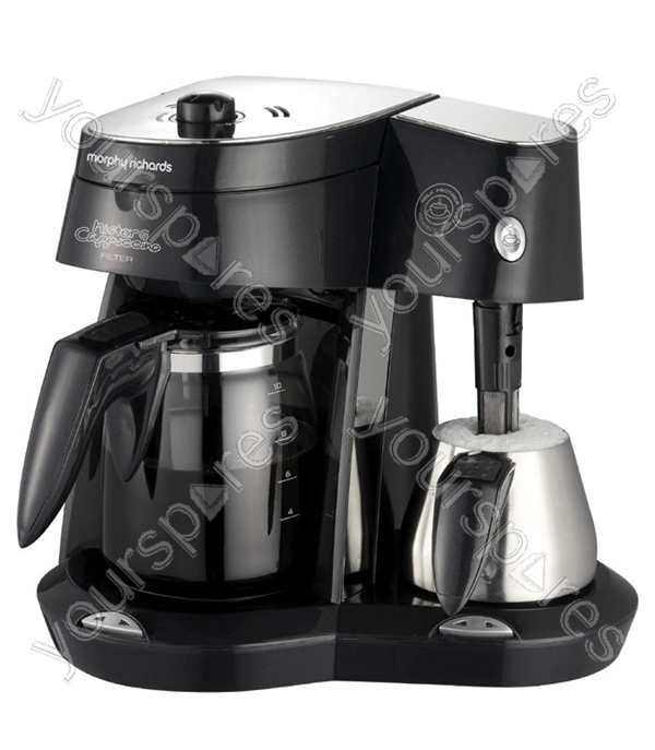 Coffee Maker Keeps Coffee Hot : Mr Cappuccino Filter Coffee Maker with Milk Frother, Anti-Drip Device, Fastbrew, and ...