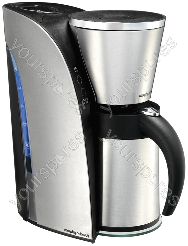 Arc Filter Coffee Maker 12-15 Cup / 1.25litre 47110 by Morphy Richards