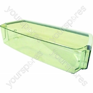 Indesit Clear Plastic Fridge Door Bottle Shelf