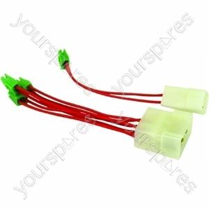 Indesit Wiring Elettrov. Da Faston 6 A Idc