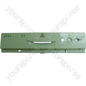Indesit White Dishwasher Control Panel / Dashboard