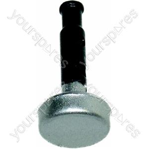 Indesit Silver Cooker Timer Knob