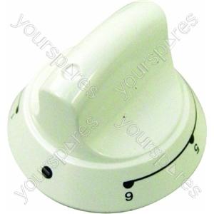 Indesit White Cooker Heat Knob 6