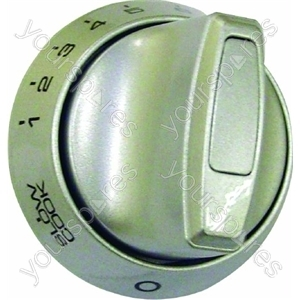 Indesit Silver Main Oven Control Knob