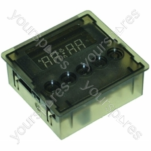 Timer 3 Button Green Invensys