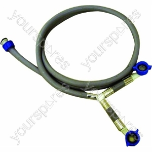 Indesit Washing Machine Dual 'Y' Fill Hose - 1963mm