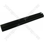 Indesit Black Right Hand Oven Hinge Trim