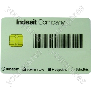 Indesit Group Smart card single use only non returnable Spares