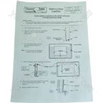 Hotpoint Condensation kit ins Spares