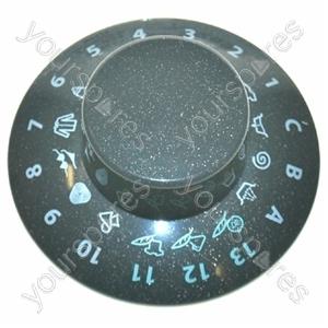 Hotpoint Wash timer knob graphite Spares