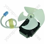 Hotpoint Fan motor & blade mes 230V 3 8W (INAR-2WAYS) Spares
