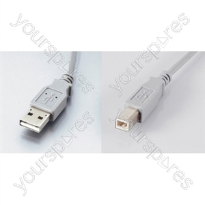 5.0m USB Printer Cable (MA-MB)