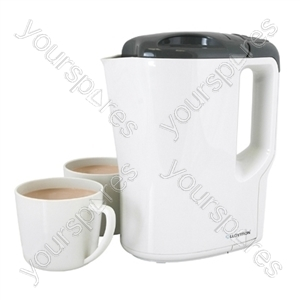 KitchenPerfected 1000w 0.9Ltr Corded Travel Kettle - Beige