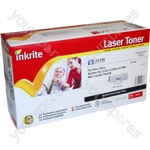 Inkrite Laser Toner Cartridge compatible with Brother TN2120 Black (Jumbo-Cap)