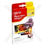 Inkrite PhotoPlus Professional Paper Photo Gloss 260gsm 6x4 (50 sheets)