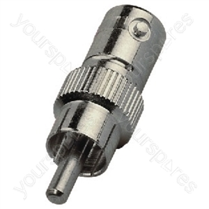 BNC Cinch Adaptor - Adapter Bnc Jack/rca Plug
