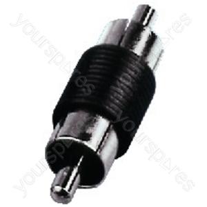 RCA Phono Coupler - Rca Adapters