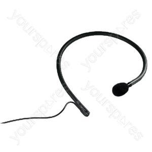 Headworn Microphone - Electret Neckband Microphone
