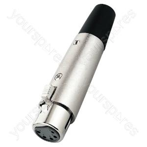 XLR Jack - Xlr Connectors, 5 Poles