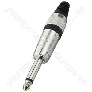 TRS Plug - 6.3mm Plugs, Mono