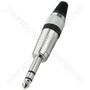 TRS Plug - 6.3mm Plugs, Stereo