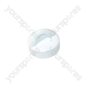 Electrolux White Washing Machine Timer Knob